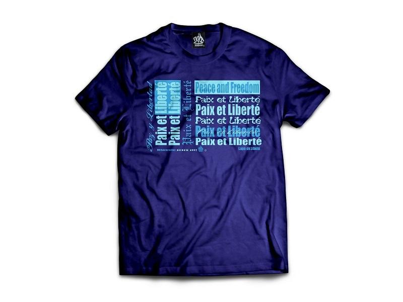 Tee-Shirt PAZ Y LIBERTAD By Klassicvib