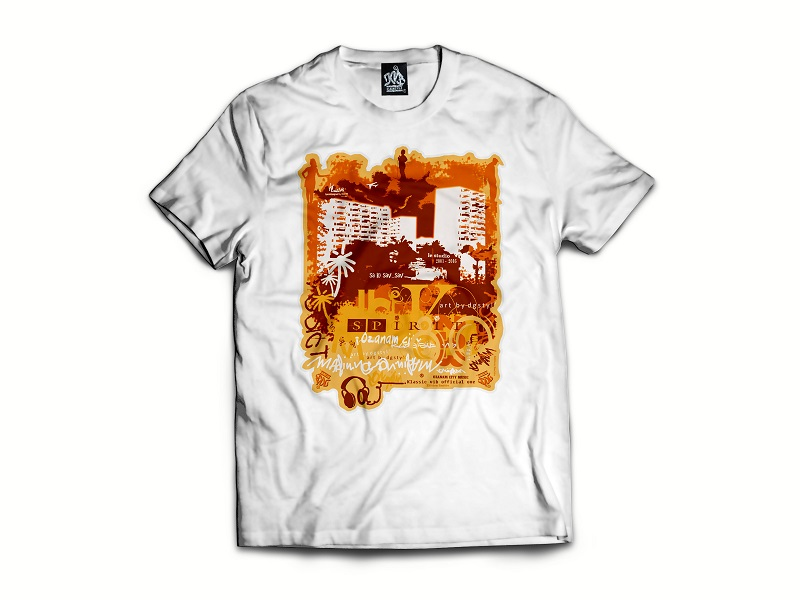 Tee-shirt homme classique CHAT IS ONE by klassicvib