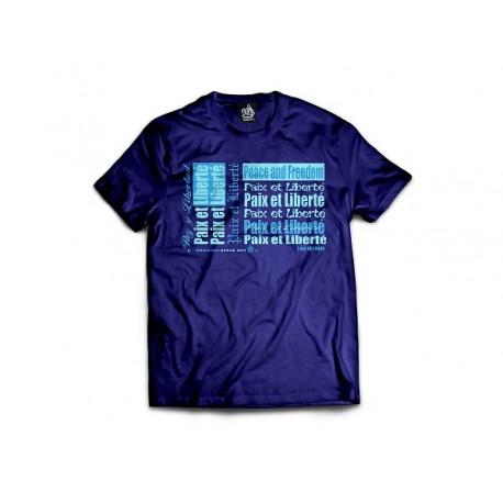 Tee-shirt homme classique PAZ Y LIBERTAD