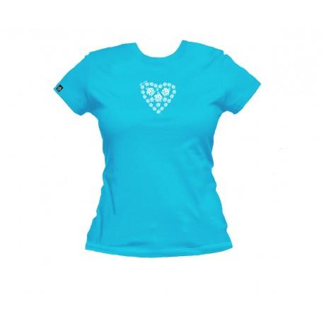 Tee-shirt femme LOVE ME KVB